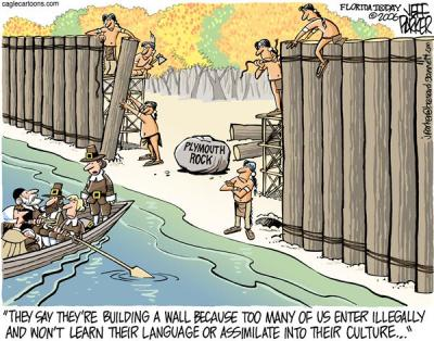 Image result for immigration cartoon